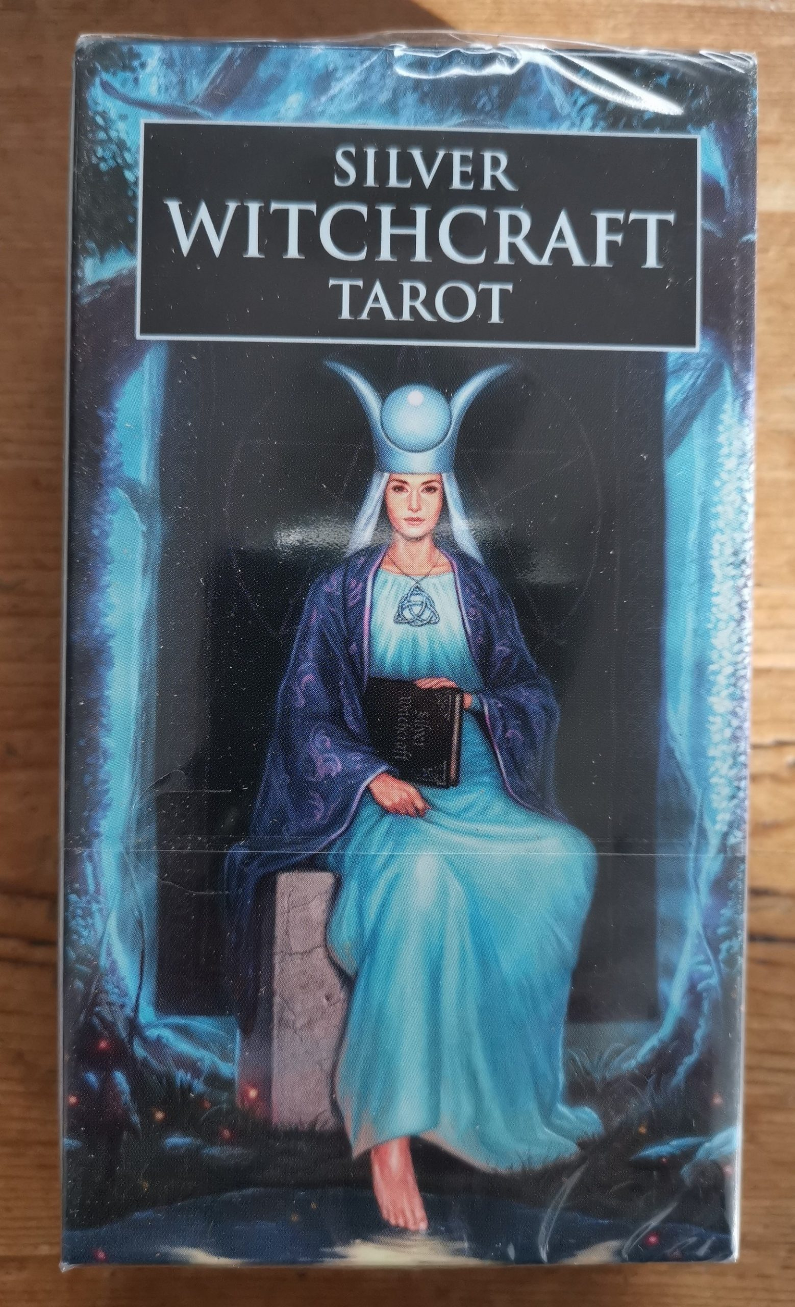 Silver Witchcraft Tarot   Angel on a Broomstick